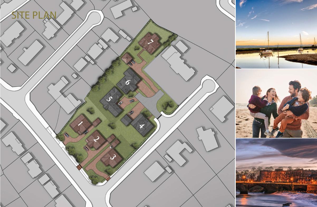 Gayton Chase Site Plan